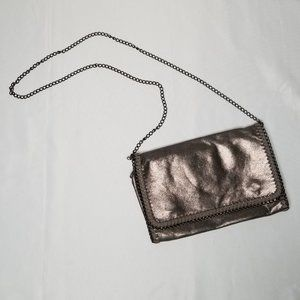 PHASE 3 metallic crossbody bag